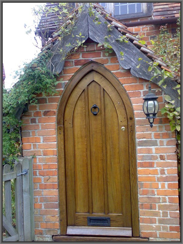 Wooden Door Restoration And Finishing Services In