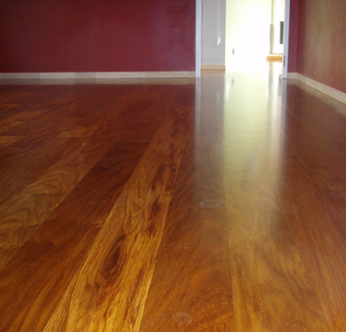 Lovely wooden flooring
