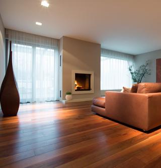 House floor sand service