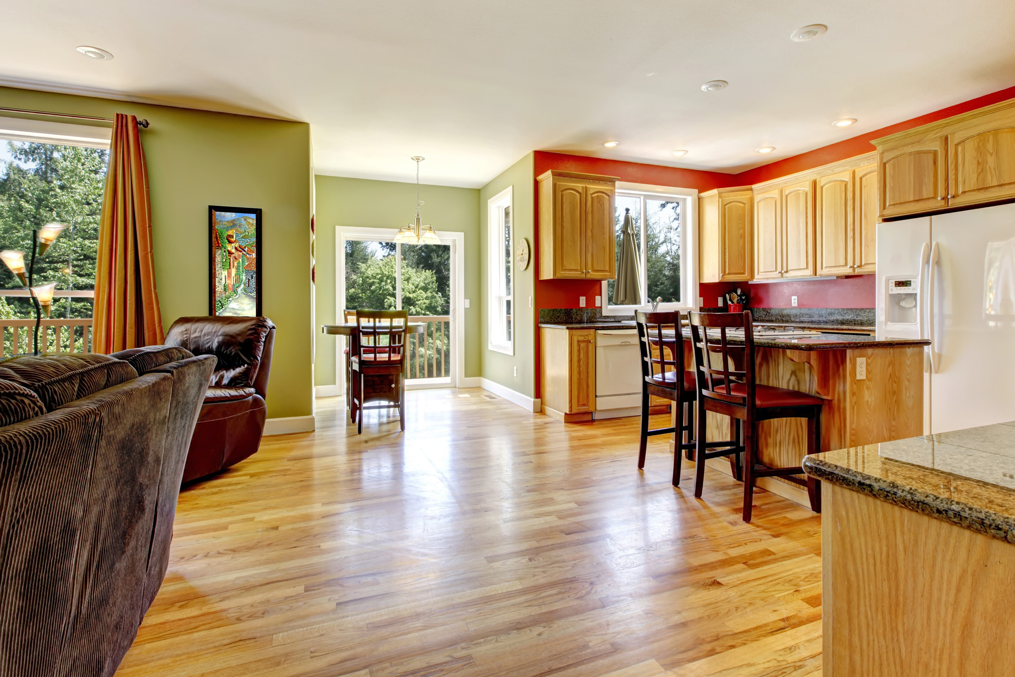 Professional house floor sand service