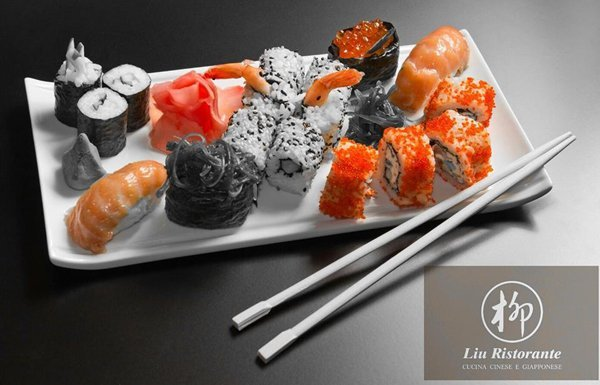 Sushi misto al Ristorante Sushi Liu a Bologna