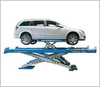 Ponte per revisioni auto