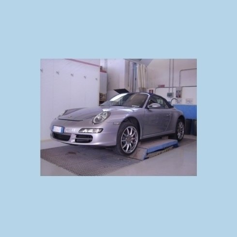 Porsche in preparazione