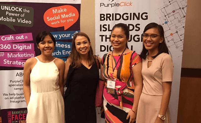 PurpleClick Event in Cebu: Bridging Islands Through Digital - March 2017