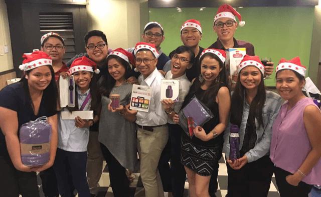 PurpleClick Christmas Party - December 2016