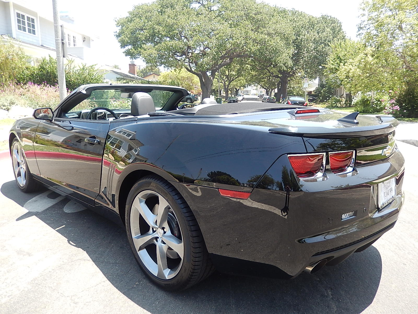 Chevy Camaro 2ss Convertible For Rental In Los Angeles