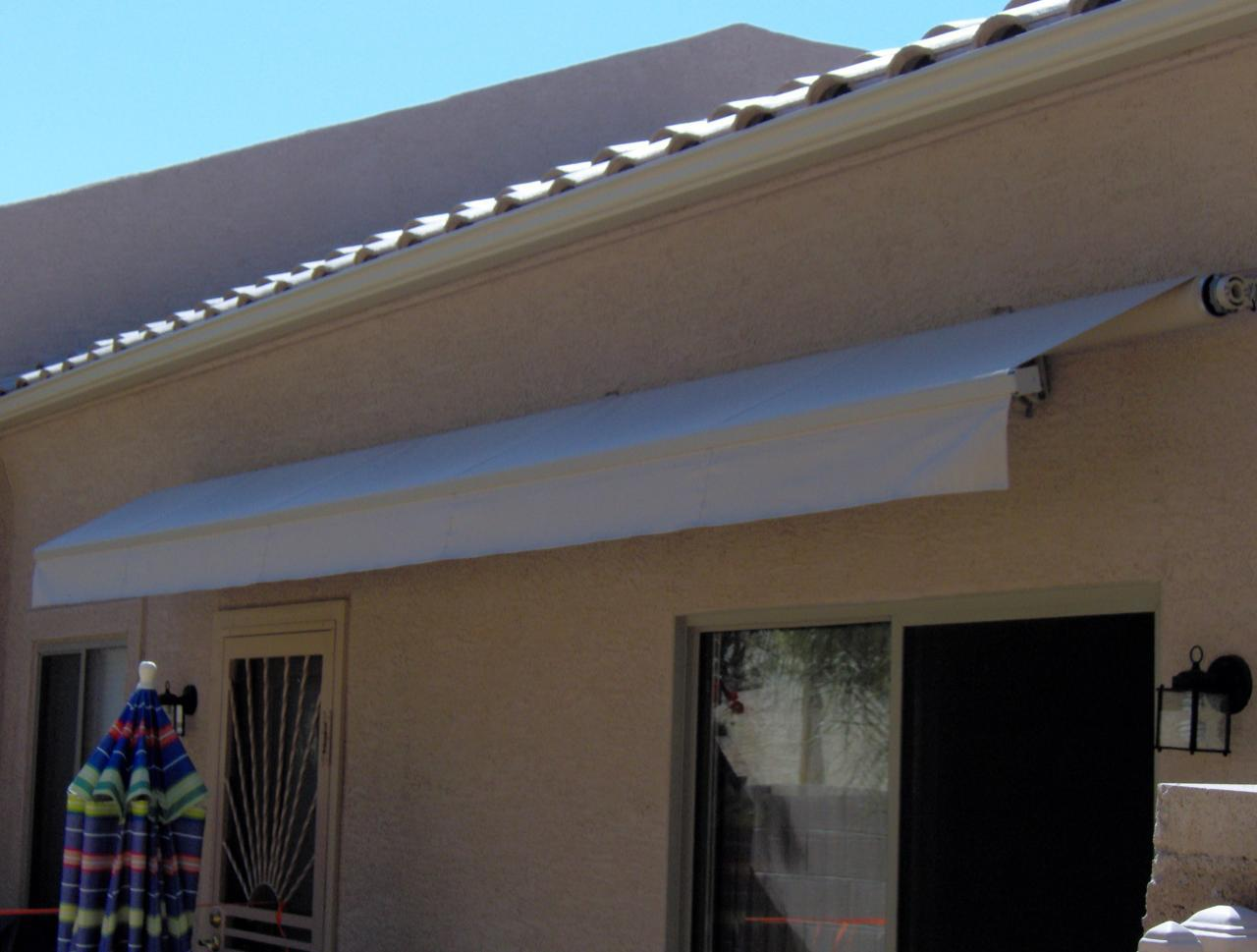 Retractable Awning Over Patio