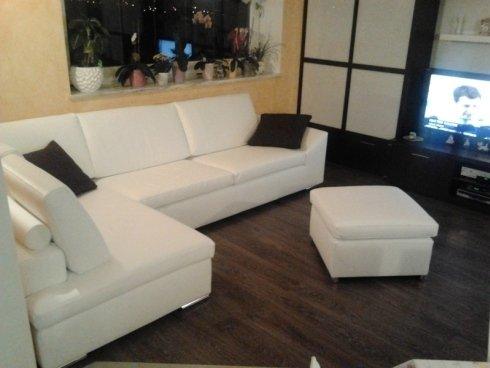 divano bianco pelle