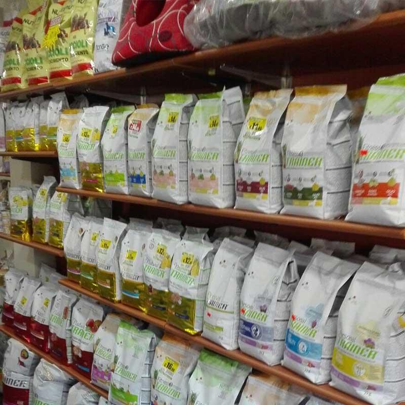accessori e cibo per animali