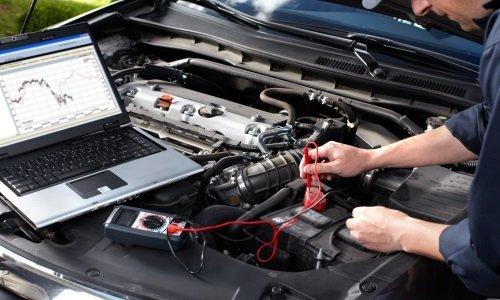 Controllo della batteria tramite computer