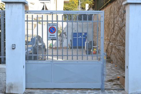Chiusura cancello scorrevole