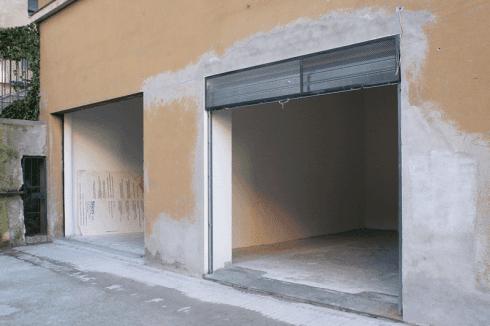 Installazione portone box