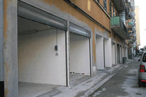 Serrande in acciaio per garage