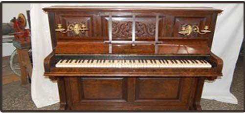 Restauro strumenti musicali antichi