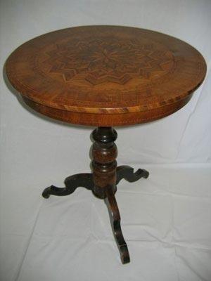 Restauro tavolino