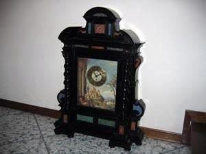 Orologio ad altare restaurato