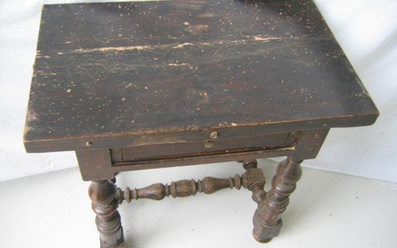 Tavolino da restaurare