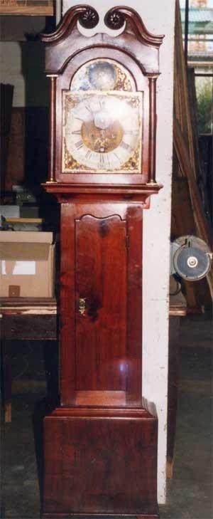 Orologio a pendolo restaurato