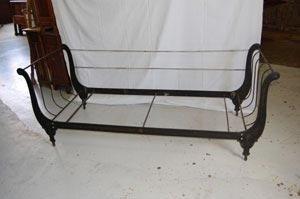 Restauro divano in ferro battuto