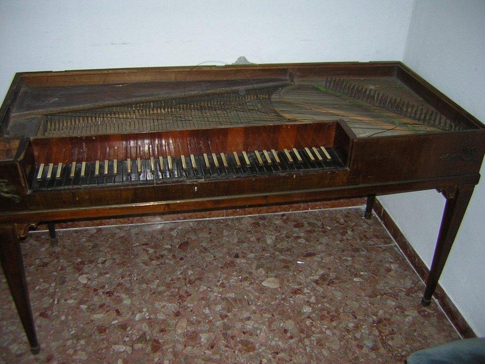 Restauro Fortepiano Santa Cecilia Bologna