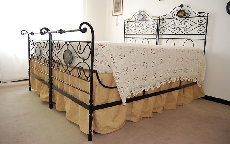 Restauro letto in ferro