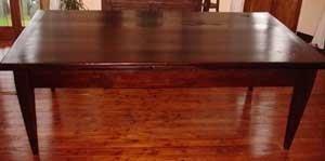 Tavolo tedesco restaurato
