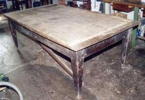 Restauro tavolo tedesco