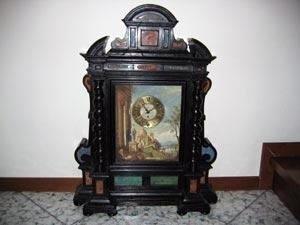 Restauro orologio ad altare