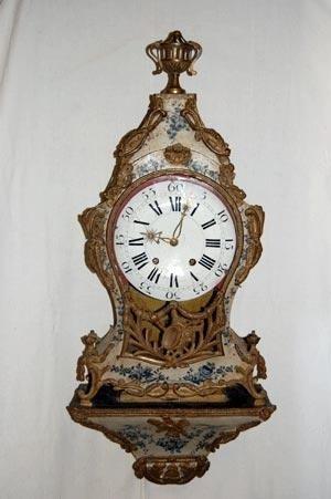 Restauro orologio Luigi XV