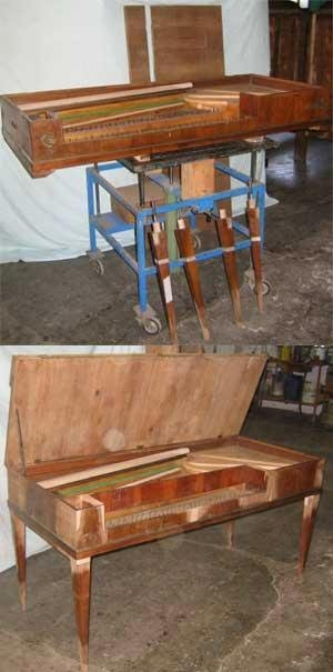 Restauro fortepiano