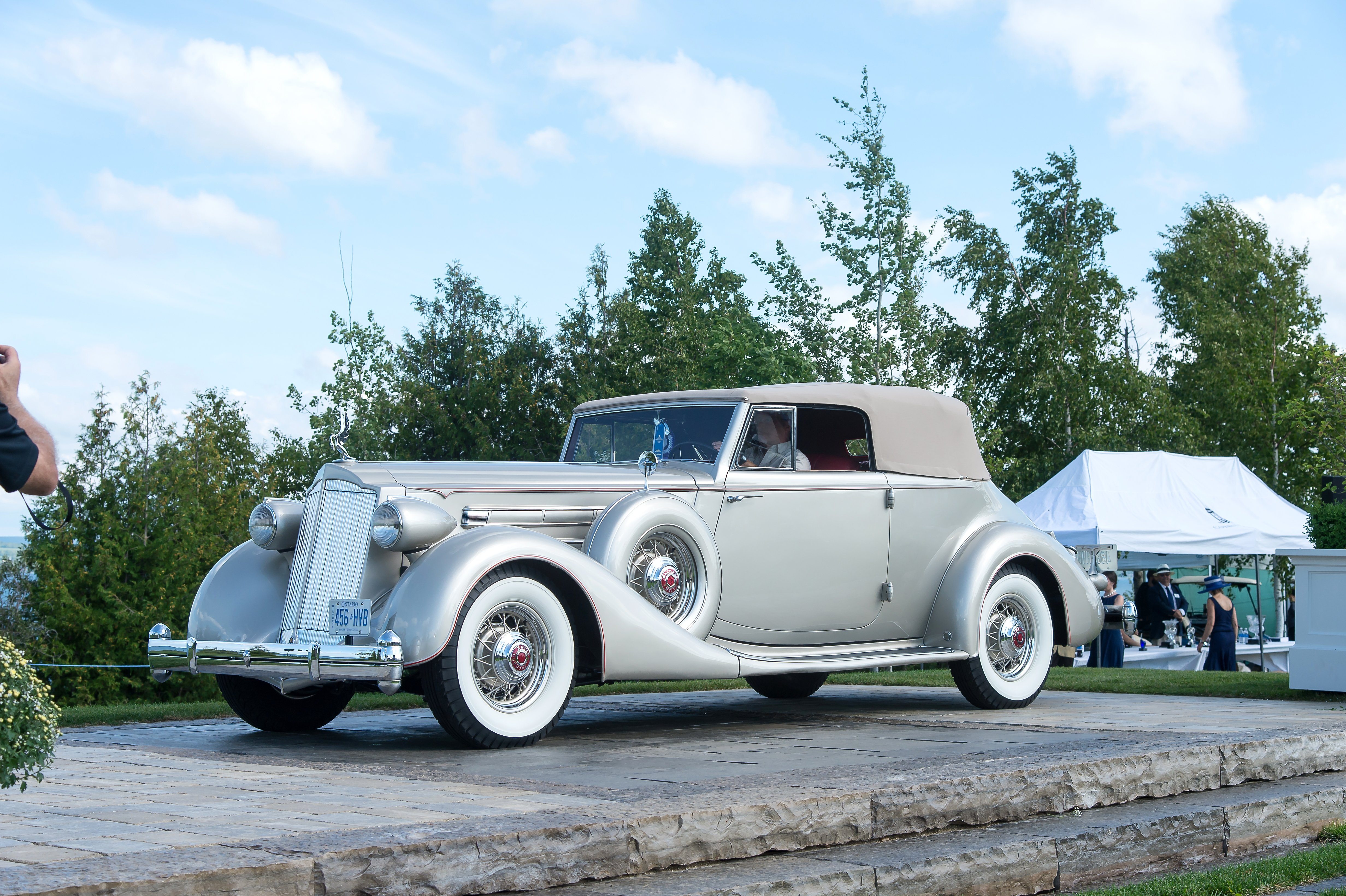 1936 Packard Twelve Victoria- TOM THOMSON- D.Buck