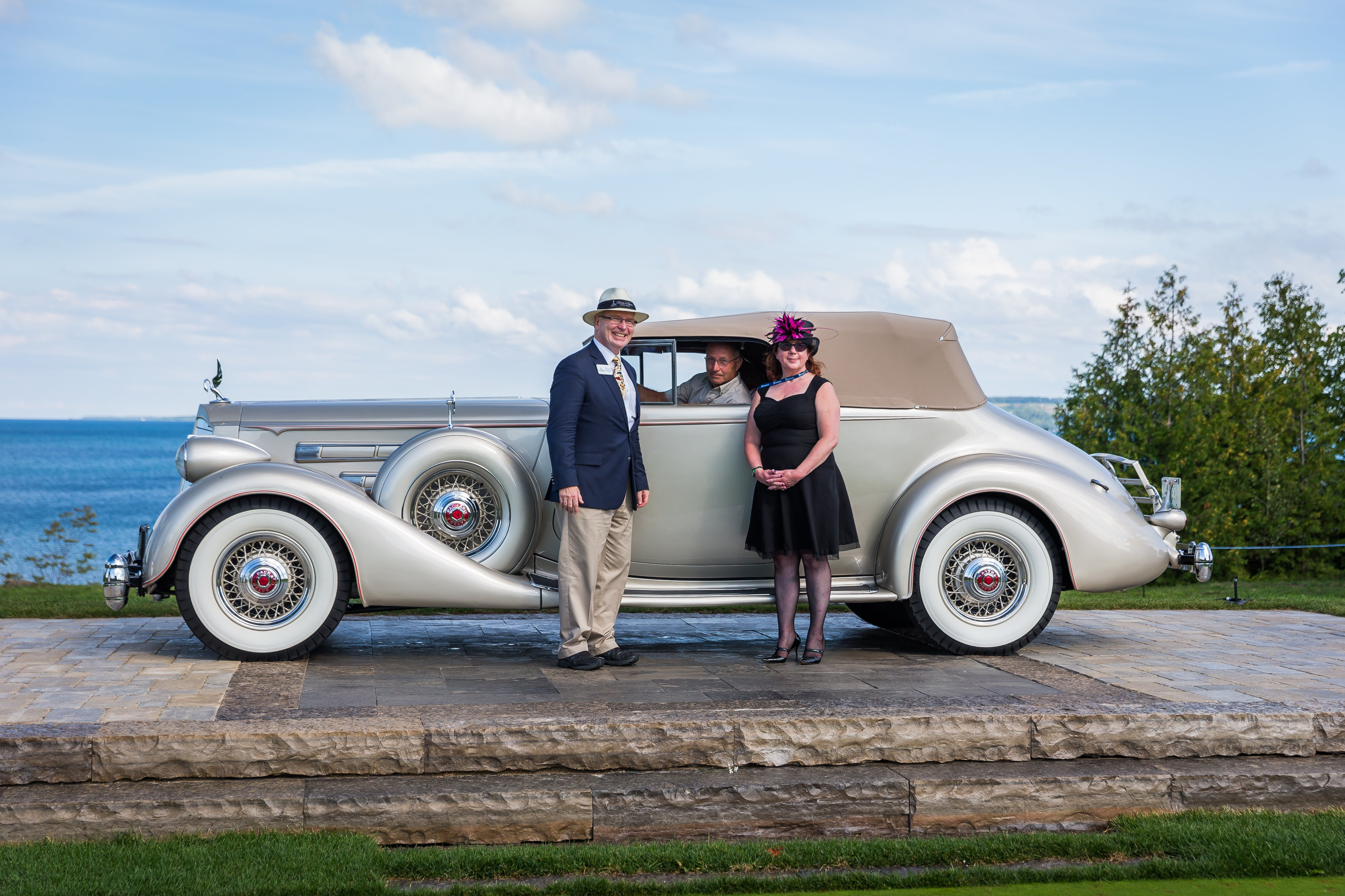 1936 Packard 12 Victoria-Tom Thomson