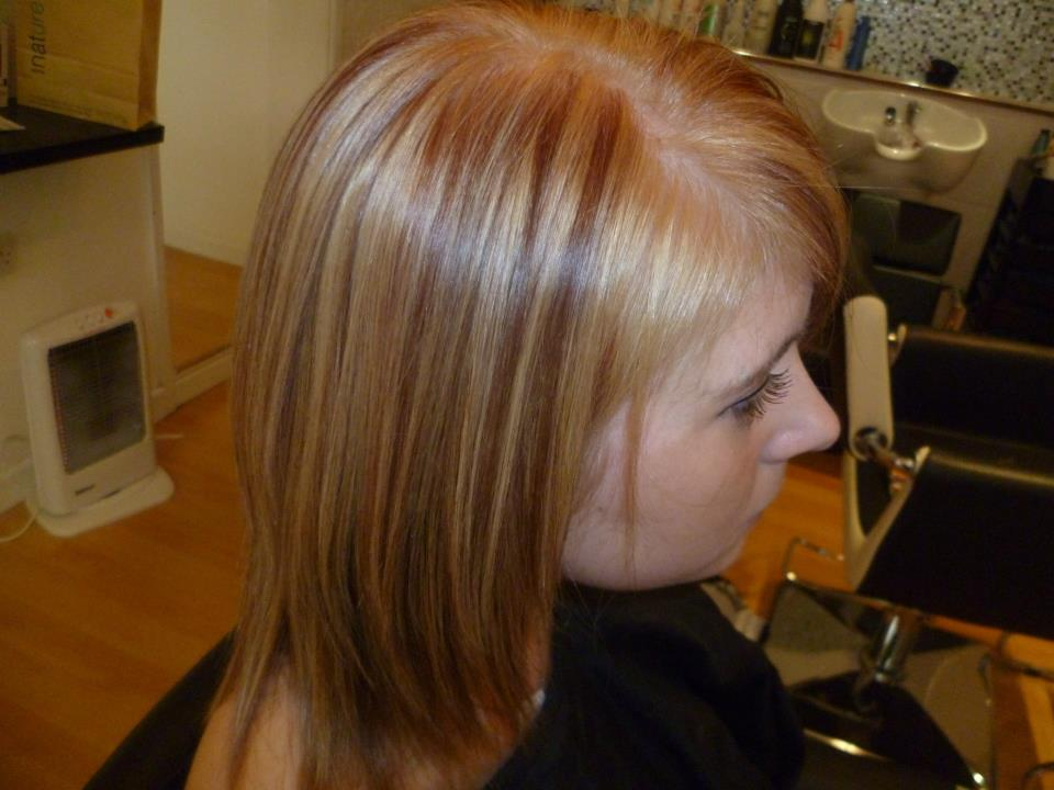 golden brown hair colour