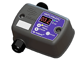 Switchmatic  è un pressostato elettronico con selezionatore di pressione digitale