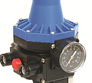 Control Pump è un controllo elettronico presso-flussostati, inseriti negli impianti idraulici per regolarne l'accensione e lo spegnimento in base alla pressione.