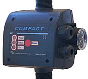 Compact 22 è un controllo elettronico presso-flussostati, inseriti negli impianti idraulici per regolarne l'accensione e lo spegnimento in base alla pressione.