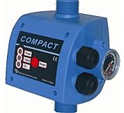 Compact 2   è un controllo elettronico presso-flussostati, inseriti negli impianti idraulici per regolarne l'accensione e lo spegnimento in base alla pressione.