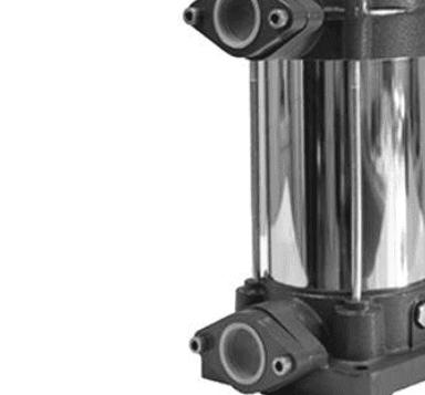 Elettropompe di superficie per pressurizzazione verticali
