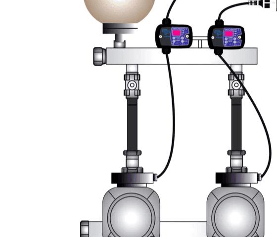Pompe verticali  gruppi pressurizzazione pressostato elettronico