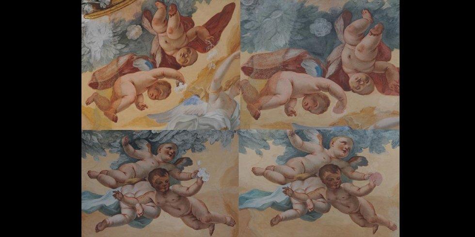 restauro di affreschi catania