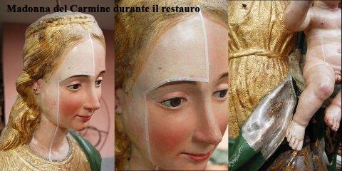 restauro statue lignee