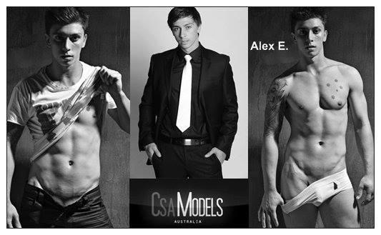 Alex E male model