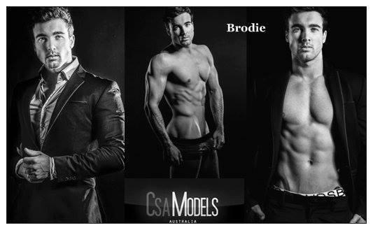 BRODIE male model