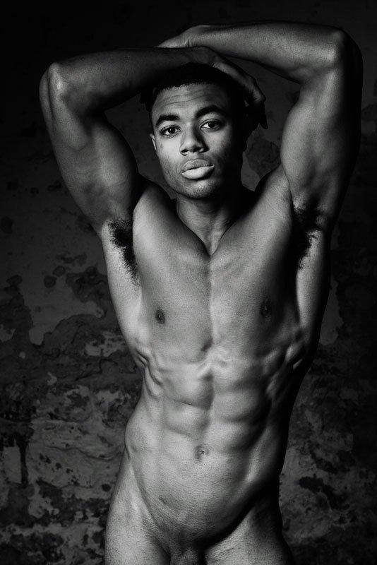 Hot nude model
