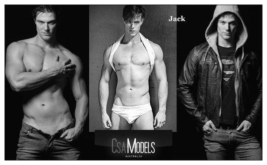 JACK male model