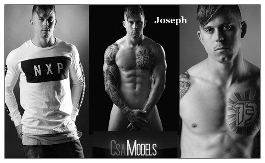 Joseph male model