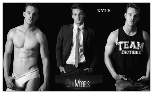 Kyle Male Model