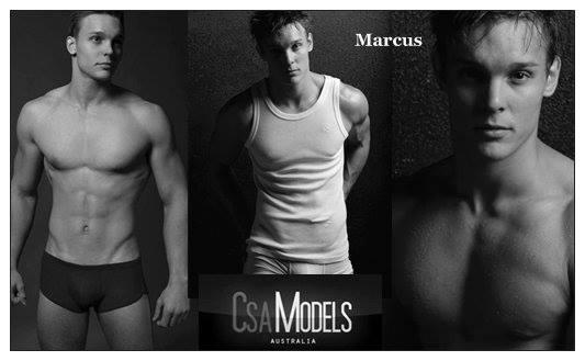 MARCUS male model