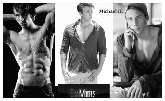 MICHAEL male model