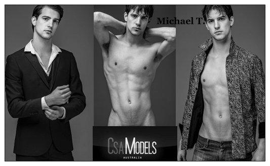MICHAEL T male model